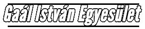 Gaál István Egyesület Logo